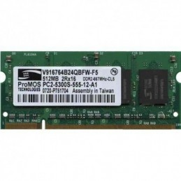 Memoria Ram Notebook DDR2 512mb PC2-5300s