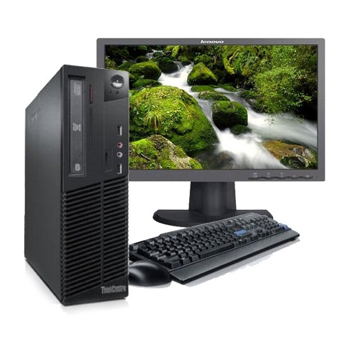Lenovo ThinkCentre M73 SFF i5-4460/8GB/500Gb + Monitor 19,5 Lenovo