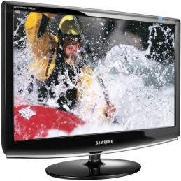 "Monitor LCD Samsung 18.5"" Panoramico Negro piano"