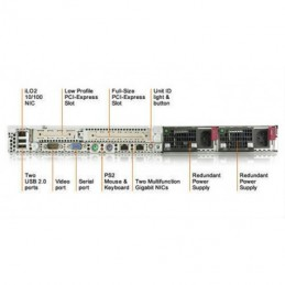HP Proliant DL 360 G5 e5420 2.5Ghz Quad-Core Intel Xeon