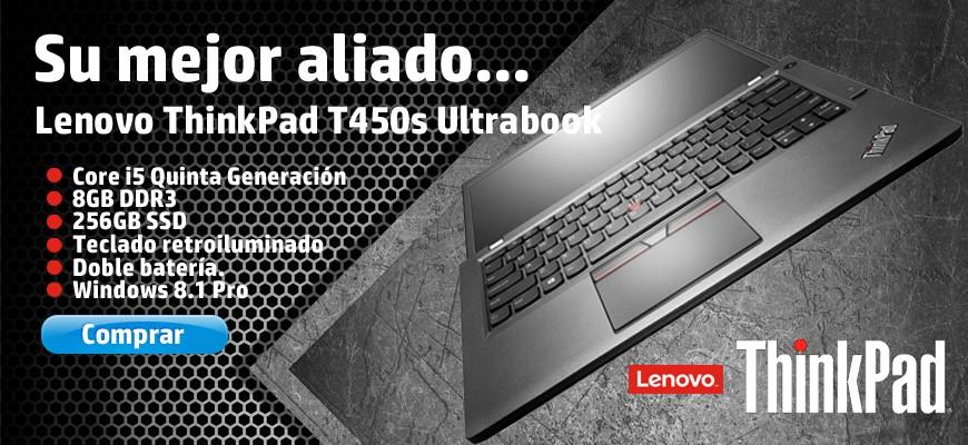 Lenovo ThinkPad T450s Su mejor aliado